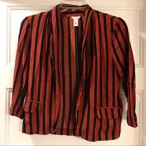 Forever 21 Striped Blazer